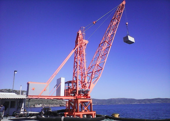 Γερανοί λιμένος: ανακατασκευές – επισκευές
