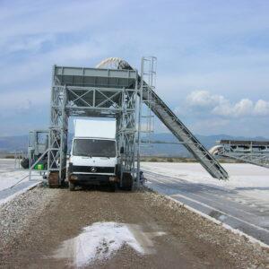 Αυτοκινούμενα silo φόρτωσης φορτηγών