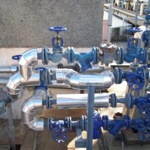 Δίκτυα σωληνώσεων ατμού, καυσίμων, αερίων, νερού