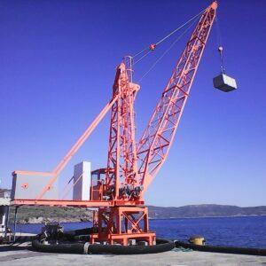 Cranes refurbishment and maintenance
