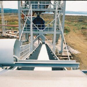 Raw salt washing unit, salt washing